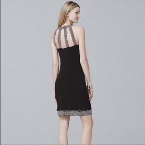 NWT White House Black Market Reversible dress XL